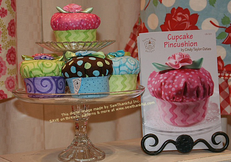 Sew Thankful Blog » cupcake pincushion sewing pattern : cupcake quilt patterns - Adamdwight.com