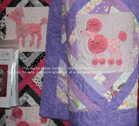 Sew Thankful Blog Yo Yo Poodle Quilt Pattern