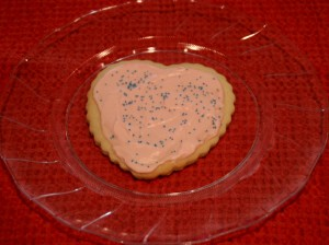 Chapman Family Valentine Cookie