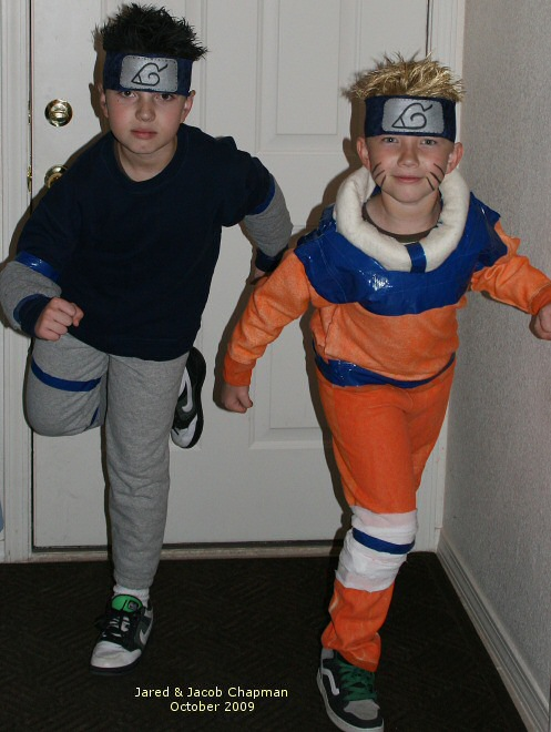 Jared and Jacob costumes 2009  sc 1 st  Sew Thankful Blog & Sew Thankful Blog » halloween costumes by Tracy
