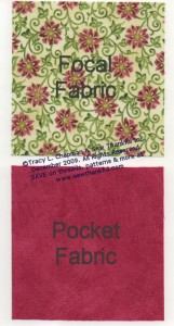 Block Variation #1 Fabrics