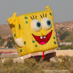 Sponge Bob close-up -- Corrales