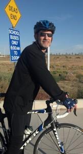 Jeff on his bike