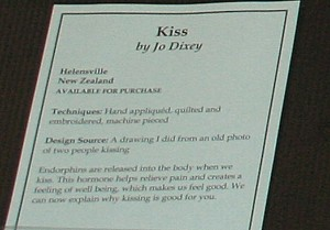 Kiss Quilt Documentation