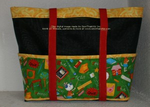 View #2 of the bag for Jacob's teacher